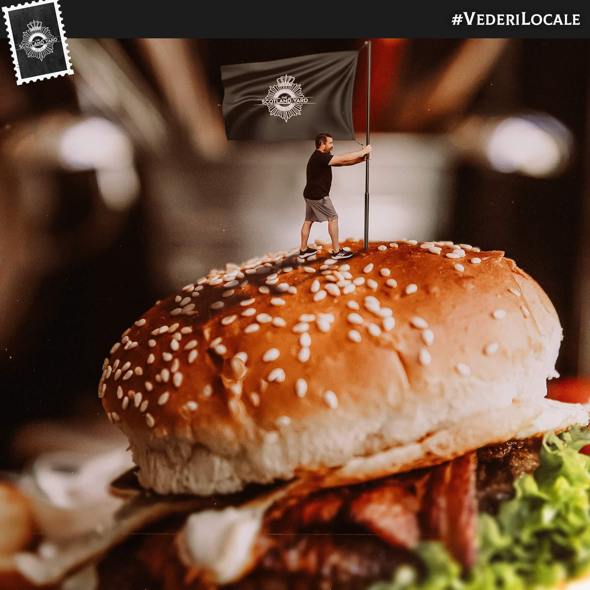 burgeri Scotland Yard Timisoara