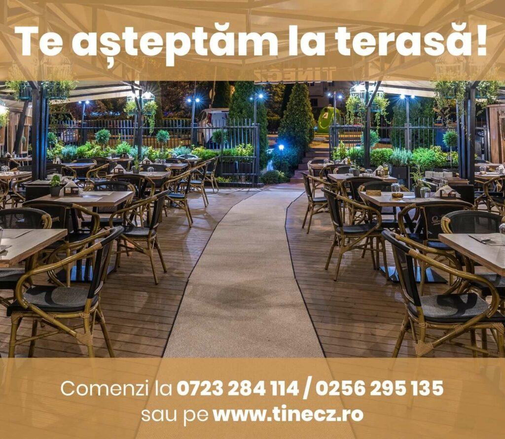 restaurante cu terasa timisoara